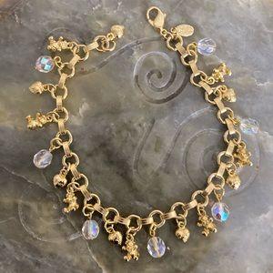 KIRKS FOLLY Charm Bracelet